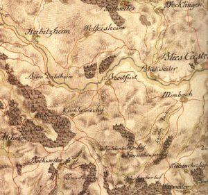 Carte Bliesgau